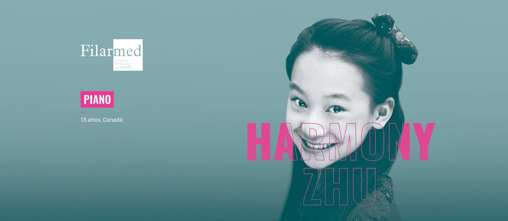 Harmony Zhu y Filarmed